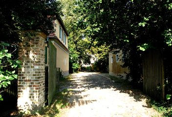 Schluß-Zufahrt