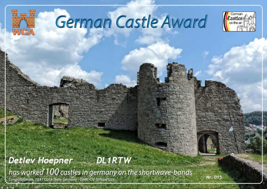 German Castle Award