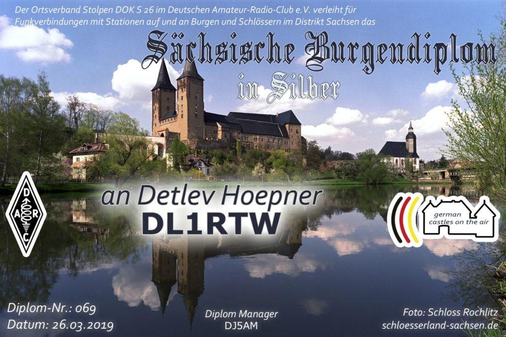 Sächsisches Burgen Diplom